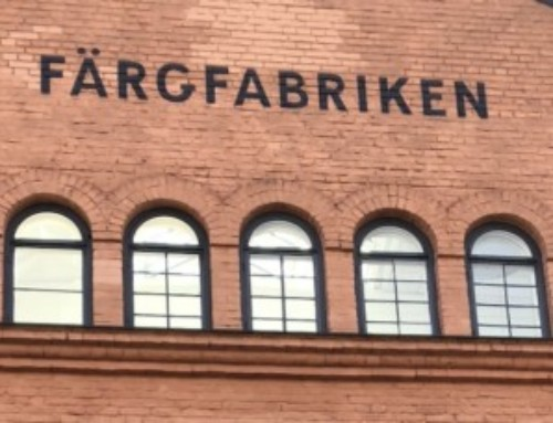 Research collaboration with Färgfabriken about sustainable urban planning